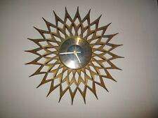 Vintage 60's 70's wall clock very nice that 70's show kinda thing