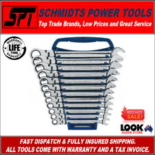 GEARWRENCH 9901D METRIC FLEX HEAD RATCHETING WRENCH SET 12 PCE SPANNER SET 12PT