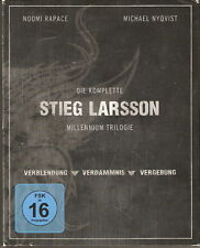 DIE KOMPLETTE STIEG LARSSON MILLENNIUM TRILOGIE - Dutch Release (4xBlu Ray Box)