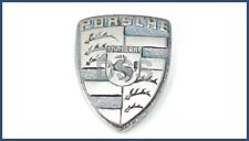 Genuine Porsche Key Fob Replacement Pewter Crest Small Emblem Logo 94453844300