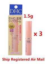 DHC Medicated Lip Cream Balm Olive Oil 1.5g 蝶翠詩橄欖護唇膏 x 3