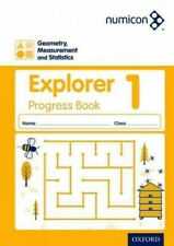 Numicon: Geometry, Measurement And Statistics 1 Explorer Progress Book, Brand...