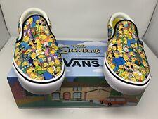 New Vans The Simpsons Springfield Comfycush Slip On Men's Size 12