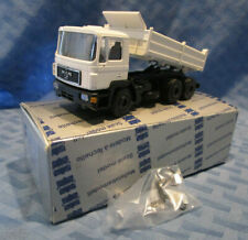 Conrad #4140, MAN F-90 3-axle Dump Truck, 1/50 scale, Die-cast, West Germany