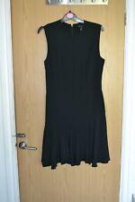 MANGO LBD BLACK DRESS SIZE M - FIT A 10, GREAT SASSY FLIRTY HEM, BUSINESS OR FUN