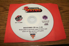 NICKTOONS NITRO RAWTHRILLS RECOVERY DISK CD V1.10 FOR AN ARCADE GAME