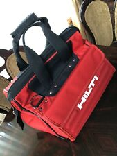 HILTI TOOL BAG BRAND NEW Large size, genuine tools Hilti contractor Construction