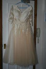 Unbranded V Neck Short Wedding Dresses