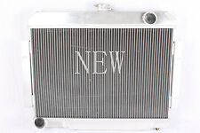 NEW ALUMINUM RACING RADIATOR 72-86 JEEP CJ CJ5/ CJ6 / CJ7 3 ROW