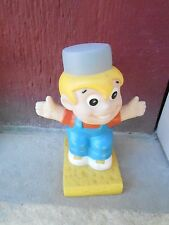 NOS Chore Boy Vinyl Advertising Figure for Chore Boy Scrubbers Figurine (S18C)