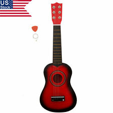 """Us 21"""" 6 String Acoustic Guitar Beginners Kids Children Musical Gift Toy w/ Pick"""