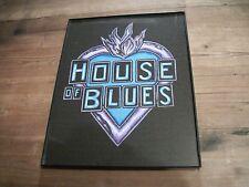 House of Blues-Juke Joint-Blues Bar Sign Art-Painting-Original-Guitar-Electric