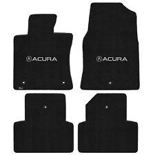 FOR ACURA TL 2009-2013 Front - Rear Floor Mats EBONY ACURA W/ A LOGO 600214