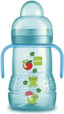 MAM Trainer 2in1 Baby/Toddler Transition Cup - 4 Months+ (Blue) *NEW*