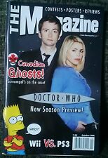 The Magazine Dr. Who Doctor Preview Guide UK TV 2006 BBC Canadian Exclusive Rare