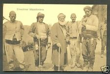 Macedonia Makedonija Men Costume ca 1910