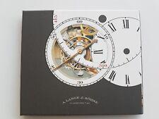 A. Lange Sohne paquete de prensa 2011 CD &