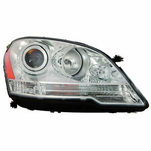 RH Right Passenger Headlamp Halogen fits 2009 2011 Mercedes Benz ML350/ML550