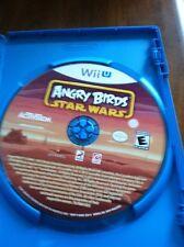 Nintendo Wii U Angry Birds Star Wars Video Game Cheap