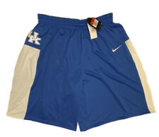 NWT Nike Men's NCAA Authentic University Of Kentucky Basketball Shorts Sz Large