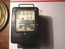 1920 's metropolitan vickers single phase watt hour meter vintage