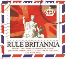 RULE BRITANNIA NEW CD 18 SONGS THAT INSPIRED A NATION Land Of Hope & Glory