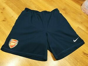 Football shorts Arsenal London player issue size M