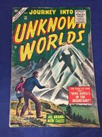 Journey Into Unknown Worlds 40 Atlas Comics 1955 Horror!!
