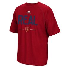 Real Salt Lake MLS Adidas Men's Authentic Graphic Red T-Shirt