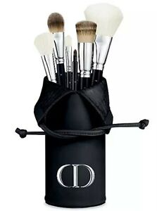 NEW Christian DIOR Makeup BRUSH HOLDER Cosmetic Pouch Bag