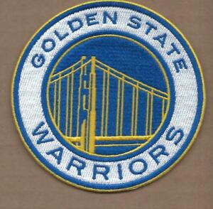 NEW 4 INCH GOLDEN STATE WARRIORS CURRY-DURANT IRON ON PATCH FREE SHIPPING