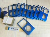 10X BLUE Front Faceplate Housing Case for iPod Classic 6th 7th 80gb 120gb 160gb