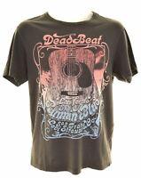 LEVIS Mens Graphic T-Shirt Top Small Black Cotton  ET17