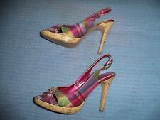 DOLLHOUSE SHOES WOMEN'S SIZE 8  (4.5 INCH HEEL)