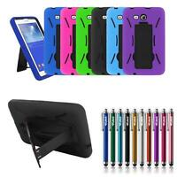 For Samsung Galaxy Tab 3 Lite 7.0 SM-T110/T111/T113/T116 Hybrid Stand Case Cover