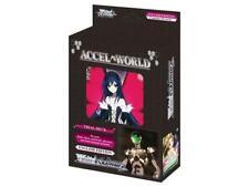 Weiss Schwarz Accel World Trial Deck! New Sealed!