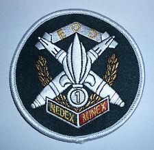 FRENCH FOREIGN LEGION 1ST ENGINEER REGIMENT  NEDEX -MINEX -EOD- BOMB DISPOSAL .