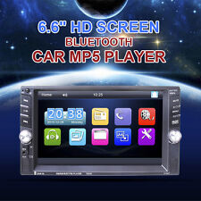 Bluetooth Car Stereo Audio CD/DVD/AM/FM/MP3/USB Aux Input Receiver Radio USB GPS
