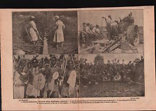WWI Loggers Newstead Abbey Nottingham/Gun Flandre/South Africa 1917 ILLUSTRATION