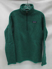 Patagonia Womens Better Sweater 1/4 Zip Pullover 25617 Impact Green Extra Small
