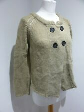 Etoile Isabel Marant green chunky knit A Line cardigan Size 2 10 VGC