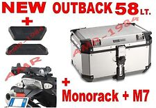 Kofferraum Trekker OBK58A Outback 58 Lt + 1146FZ Honda NC750 X 2016+E158+M7