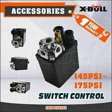 X-BULL Solid Air Compressor Pump Pressure 145-175 PSI 12 Bar 240V Switch Control