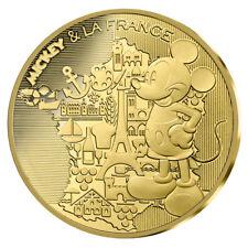 200 Euro Gold Mickey & la France 2018 Goldmünze Frankreich Mickey Mouse im Etui