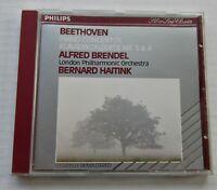 BEETHOVEN PIANO CONCERTOS LONDON PHILHARMONIC BRENDEL HAITINK CD EX