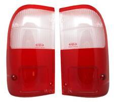 REAR TAIL LIGHT LENS LENSES FOR TOYOTA HILUX TIGER MK4 98-04 WHITE/RED COLOR