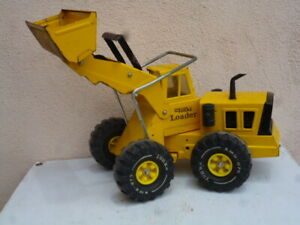 Vintage 1970-75 Tonka Toys Pressed Steel Yellow Mighty Loader #3920 Barn find