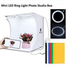 Мини светодиодный кольцевой светильник комнаты фото студия фотографии освещение палатка 6 фон коробка