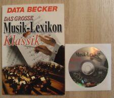 DAS GROSSE MUSIK LEXIKON KLASSIK / Buch + CD / Neuwertig