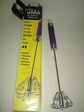 The Pogo Whisk - the Quickest Whisk Ever!  4X faster!